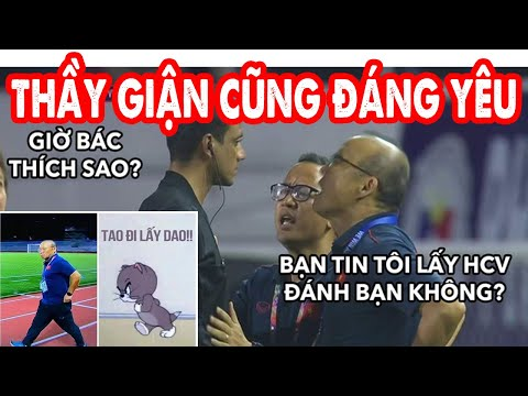 Chùm ảnh chế thầy Park khi nhận thẻ đỏ trận chung kết Sea Games 30