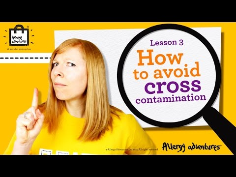 Lesson 3: How To Avoid Cross-contamination Allergy Adventures Workshop For Schools