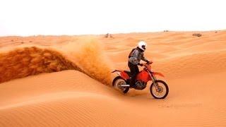 Deserto del sahara in moto e 4x4 - Tunisia - Viaggio avventura offroad - KTM Land rover
