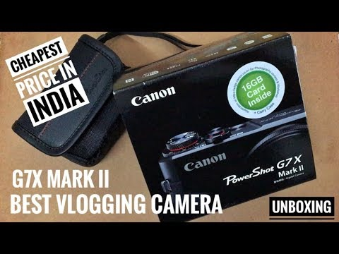 CANON G7X MARK 2 AT CHEAPEST PRICE IN INDIA ( BEST VLOGGING CAMERA )