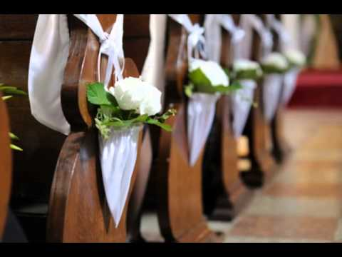 Church decoration ideas for weddings YouTube Magnificent Church Decoration Designs