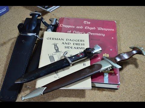 Охотничий нож Гитлер Югенда и кинжал Коричневых Рубашек - Историческое Оружие