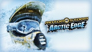 Classic PS2 Game MotorStorm Arctic Edge on PS3 in HD 720p