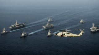 Tense stand off between US Navy and Iran in Gulf