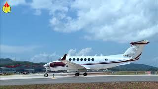 Cận cảnh chuyến bay đầu tiên đáp xuống sân bay Vân Đồn
