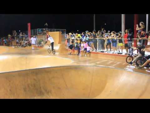 Freestyle Now South Hedland bmx scooter demo august 2015