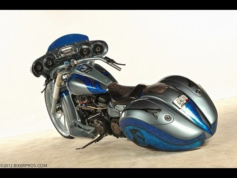 Yamaha custom roadliner kit bike custom bagger with turbo for Yamaha bagger motorcycles