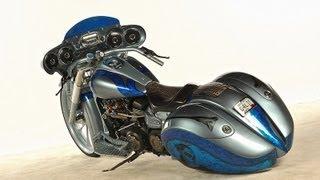Yamaha Custom Roadliner Kit Bike Custom Bagger with Turbo & Nitrous (motorcycle interview)