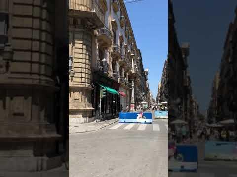 The Quattro Canti, Palermo