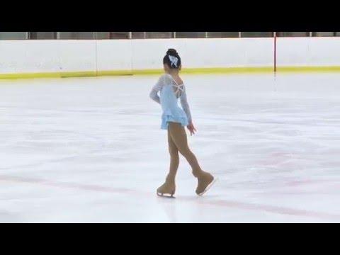 Sydney So - Figure Skate - Winter Glitters 2016 - Star 3 Free Skate (8 Years Old)