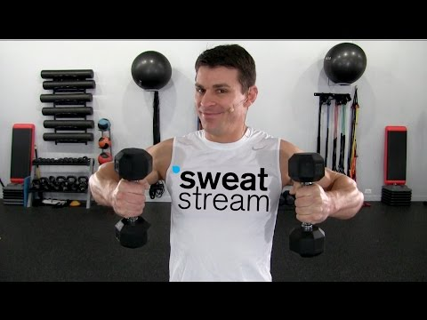 30 Minute Dumbbell Cardio and Strength Combo Workout w/ Relentless Jake