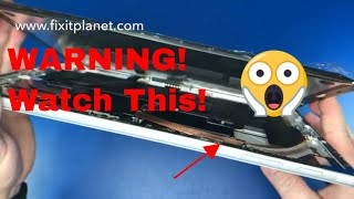 Surface Pro 5 Screen Repair & Warnings Watch This First!