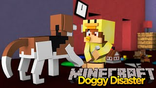 MINECRAFT ADVENTURE - TEACHING MY DOG HOW TO POOP!!!