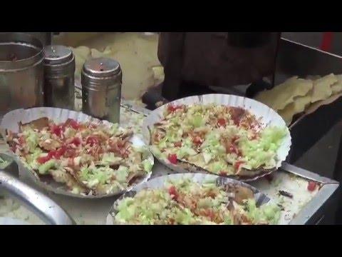 Butter Masala Papad/ Zaveri Bazar/ MUMBAI STREET FOOD