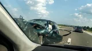 Teška saobraćajna nesreća kod Velke Plane - 17.07.2019.