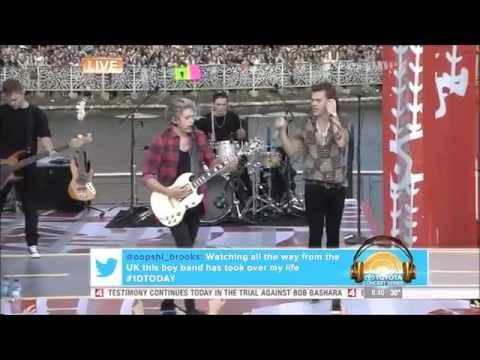 HD One Direction - Best Song Ever ( LIVE ) - Today Show November 2014