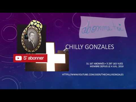 """[HARD spoken] Lecture des #4 """"À propos"""" de Mes Abo : Chilly Gonzales"""