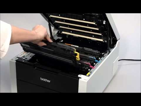 How do I remove the toner from machine | Brother HL3170CDW