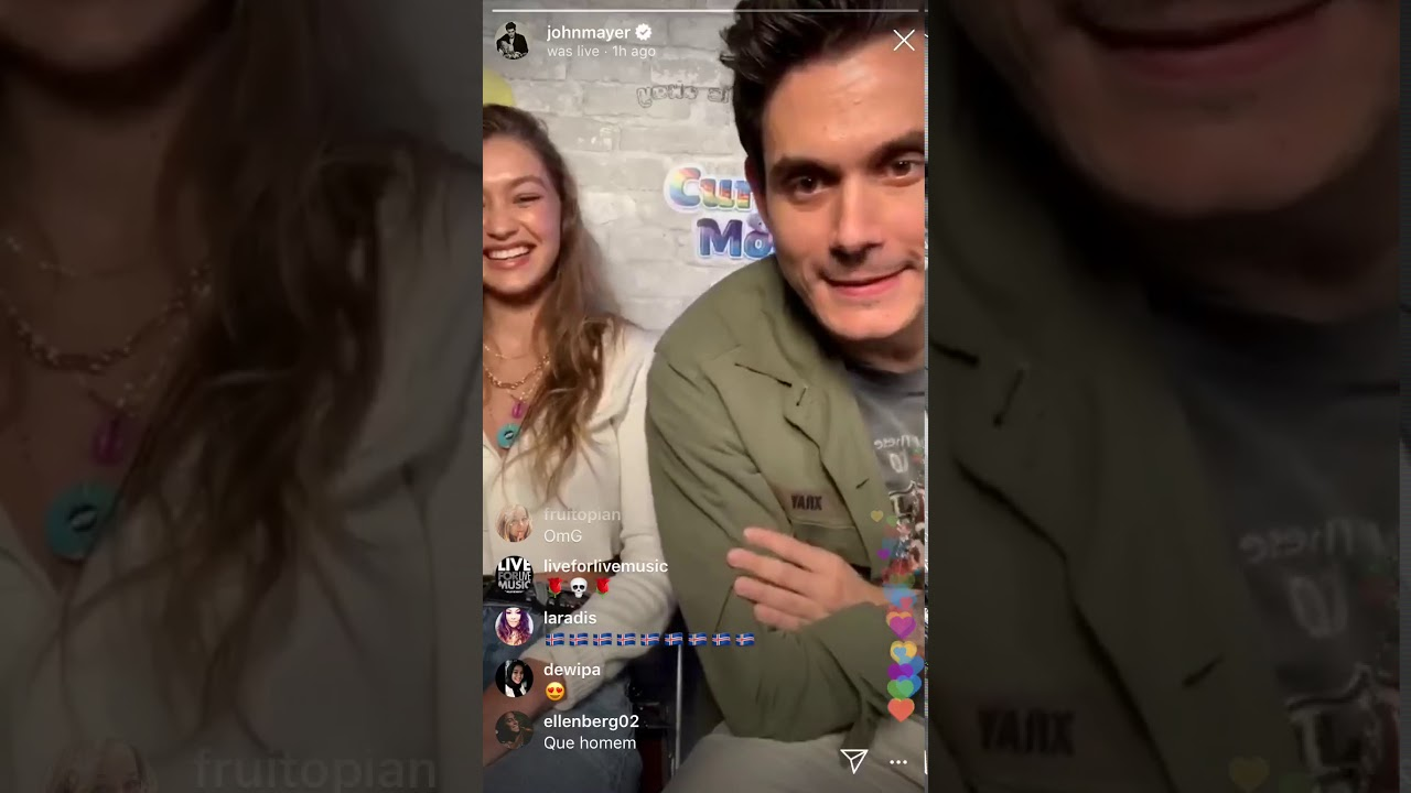Download Current Mood with John Mayer with Special Guest Gigi Hadid