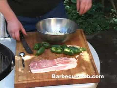 Grilled Jalapeno Poppers Peppers by the BBQ Pit Boys - YouTube