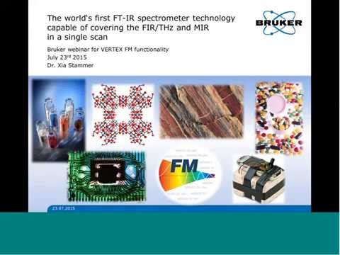 The world's first FT IR spectrometer technology capable of covering the FIRTHz and MIR in a single s