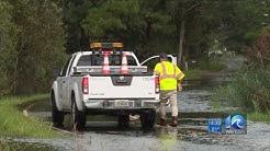 Some Virginia Beach streets already flooded