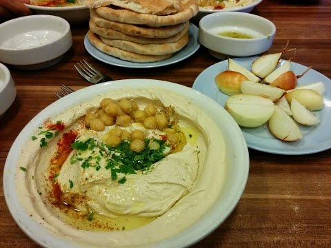 BEST HUMMUS IN ISRAEL - Tour Of Abu Hasan In Jaffa, Tel Aviv