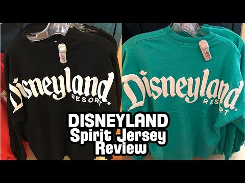 e59c19c94bc Disneyland Spirit Jersey Review - YouTube