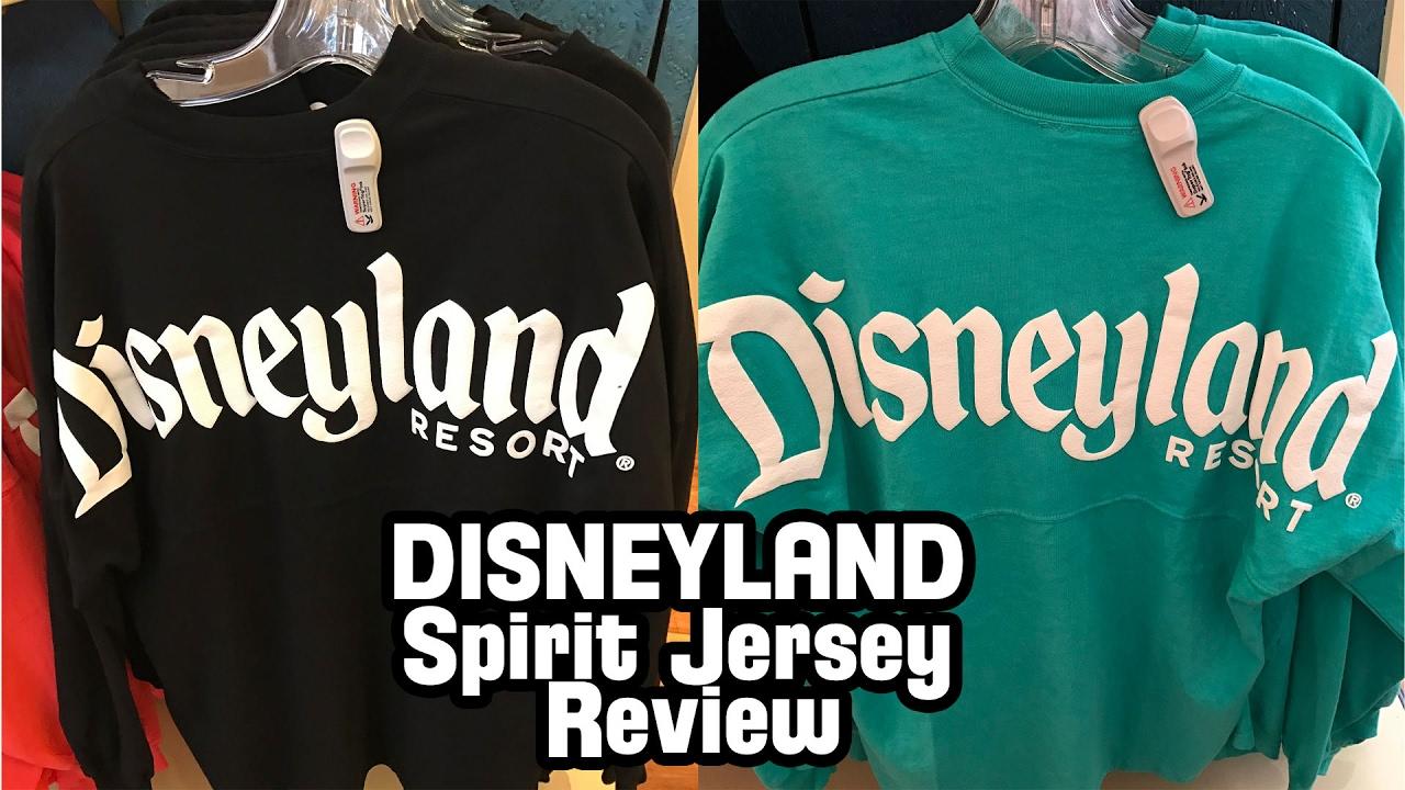 2aee71606 Disneyland Spirit Jersey Review - YouTube