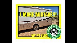 I REPAINT MY RV STRIPES WITH RUSTOLEUM... AND SCREW UP!