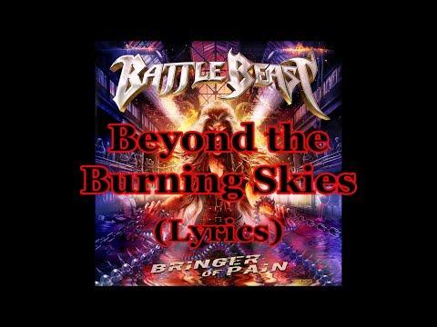 Battle Beast - Beyond the Burning Skies (Lyrics)