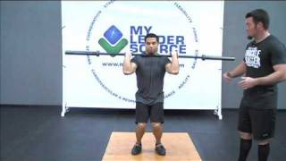 How to do a Split Jerk - Weightlifting Exercise