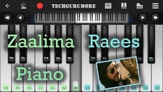 Zaalima Raees Piano Tutorial | Piano Cover | Arijit Singh