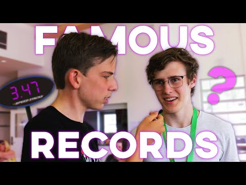 Can Cubers Guess Famous WORLD RECORD Solves?
