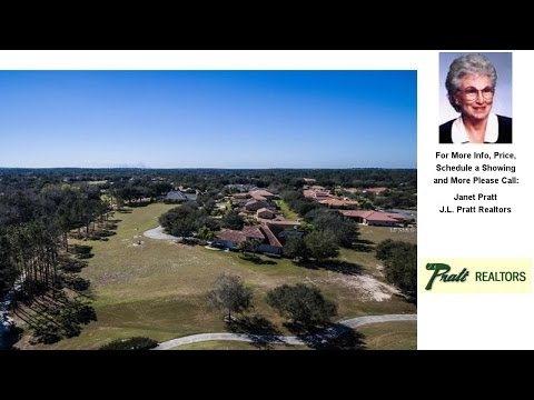9500 SAN FERNANDO COURT, HOWEY IN THE HILLS, FL Presented by Janet Pratt.