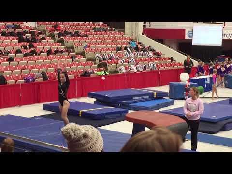 Hailey Steinke - Vault 2 of 2, Williams Center Santa Gymnastics Meet