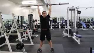 Front Squat to Push Press