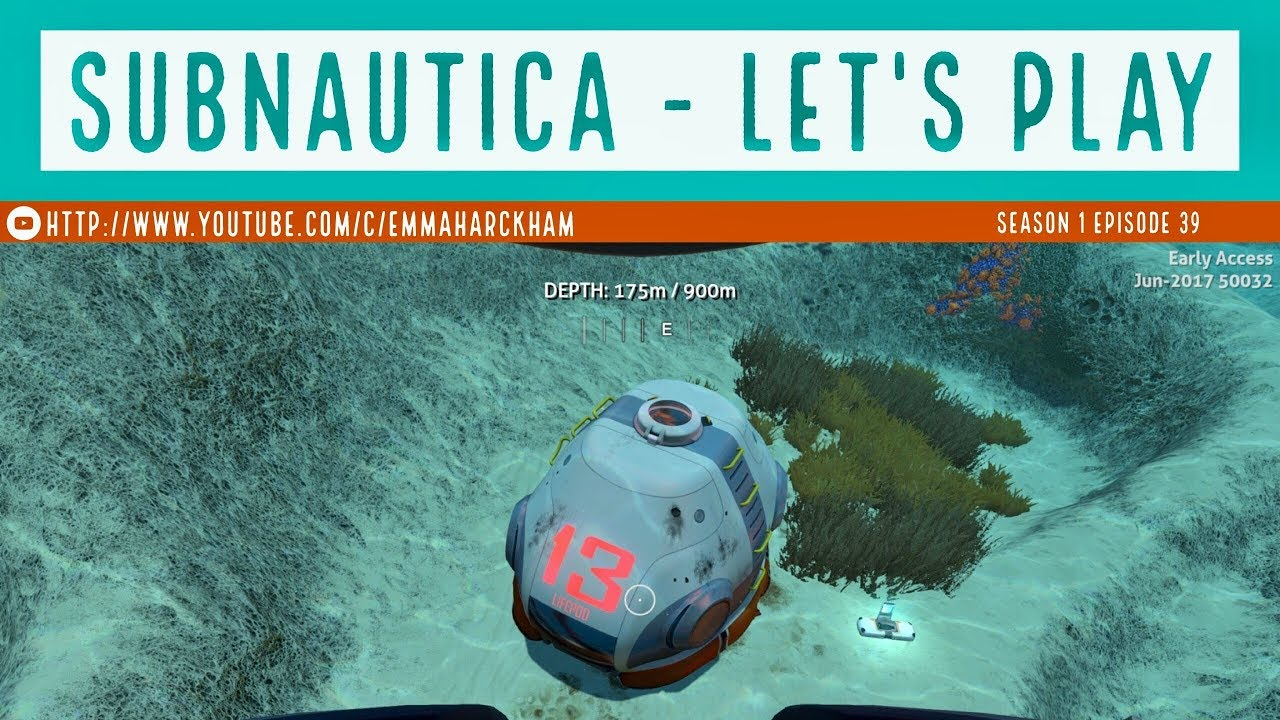 Subnautica S1 Ep 39 Found Lifepod 13 And An Alien Vent Youtube