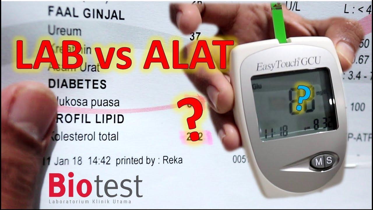 Hasil Lab Vs Alat Tes Gula Kolesterol Easytouch Gcu Biotest Easy Touch Test Asam Urat Cholesterol 3in1