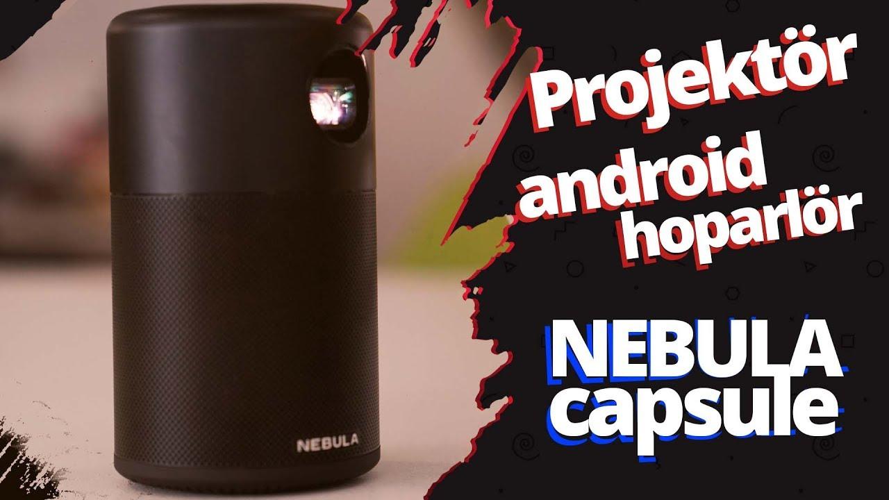 Nebula Capsule inceleme - Kutu kola boyutunda taşınabilir projeksiyon!