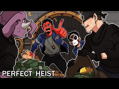 CAUGHT THEM RED HANDED! | Perfect Heist (w/ H2O Delirious, Squirrel, Rilla, & Ohmwrecker)