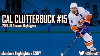 Cal Clutterbuck 2017-18 Season Highligts