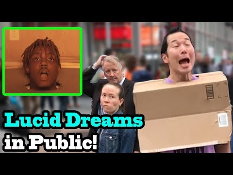 LUCID DREAMS - Juice Wrld - SINGING IN PUBLIC!!