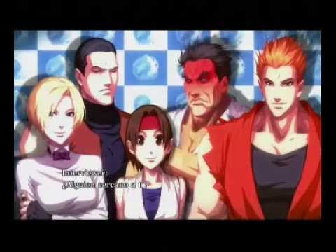King Of Fighters Xiii Arcade Art Of Fighting Team Ending Youtube