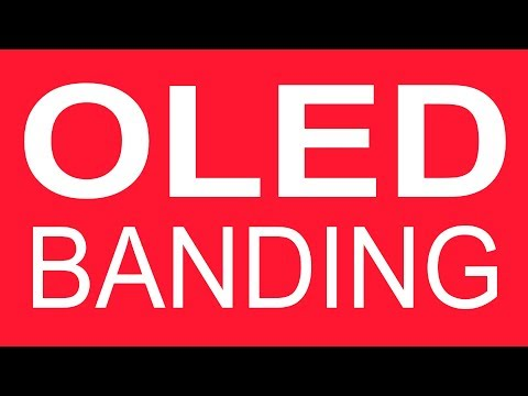 (OLED TV Banding Test) Vertical Banding Lines / Streaks On OLED TVs