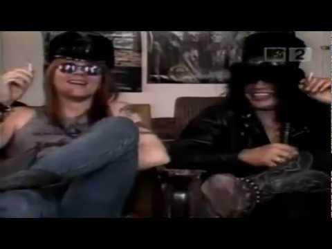 Axl Rose Slash Interview 1988