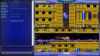 Sonic the Hedgehog 2 - Vizzed Netplay Tournament - mvhupsel VS earthwarrior - User video