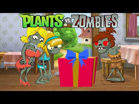 Plants VS Zombies Animation : Valentine`s Day