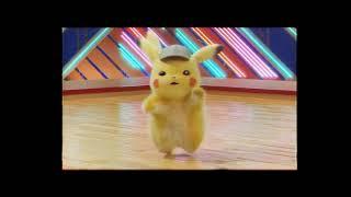 Detective Pikachu Dancing to 80's Aerobics song