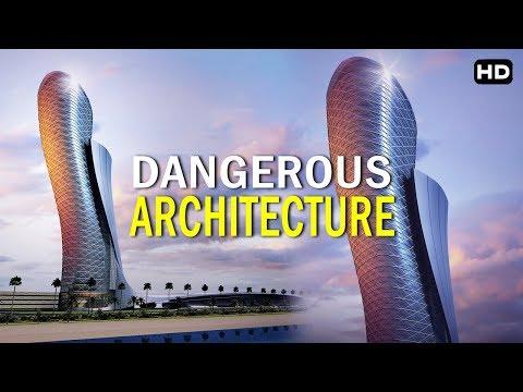 Architecture कला का सबसे अजीब नमुना  | ( Dubai) दुबई Capital Gate
